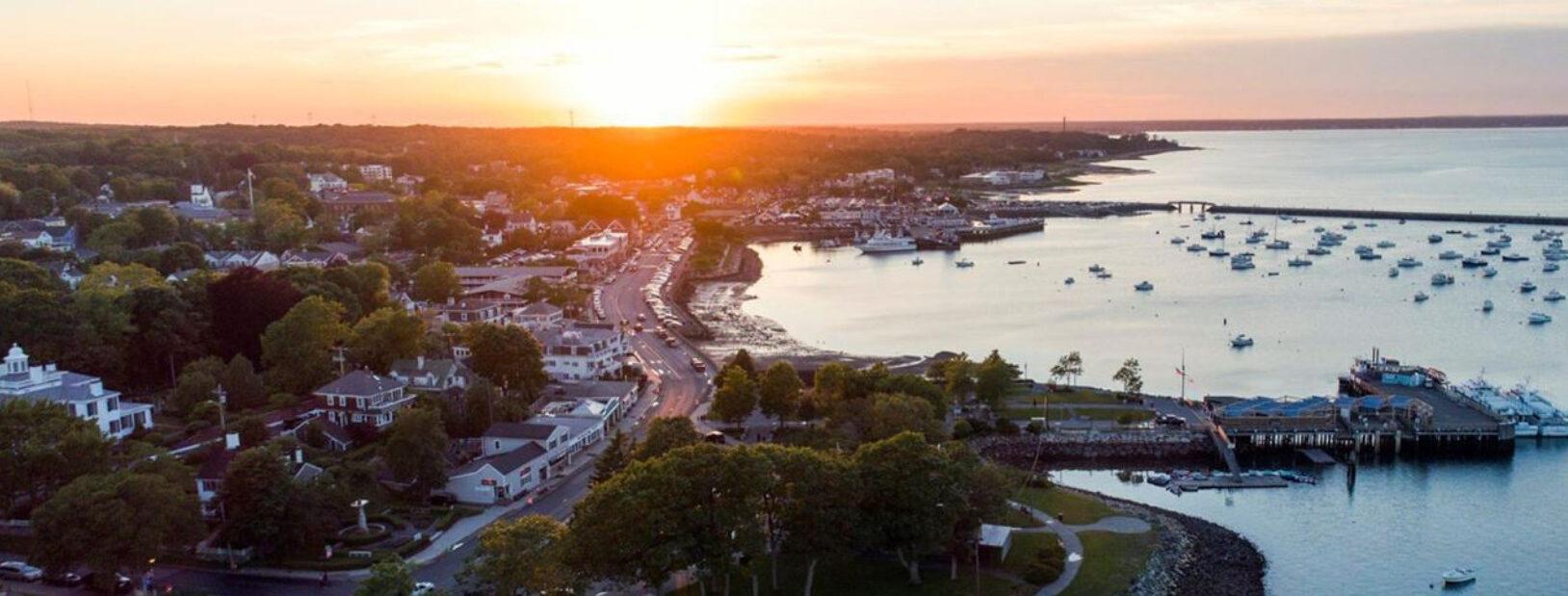 Plymouth Harbor Sunrise