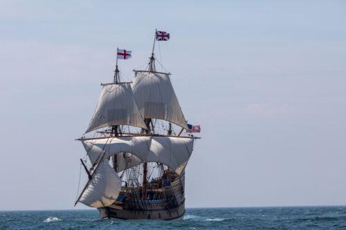 Credit Plimoth Plantation Mayflower II 7 30 418