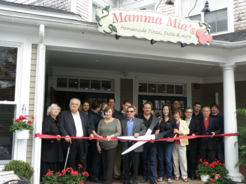 Mamma Mias Ribbon Cutting June 2014 013 Web