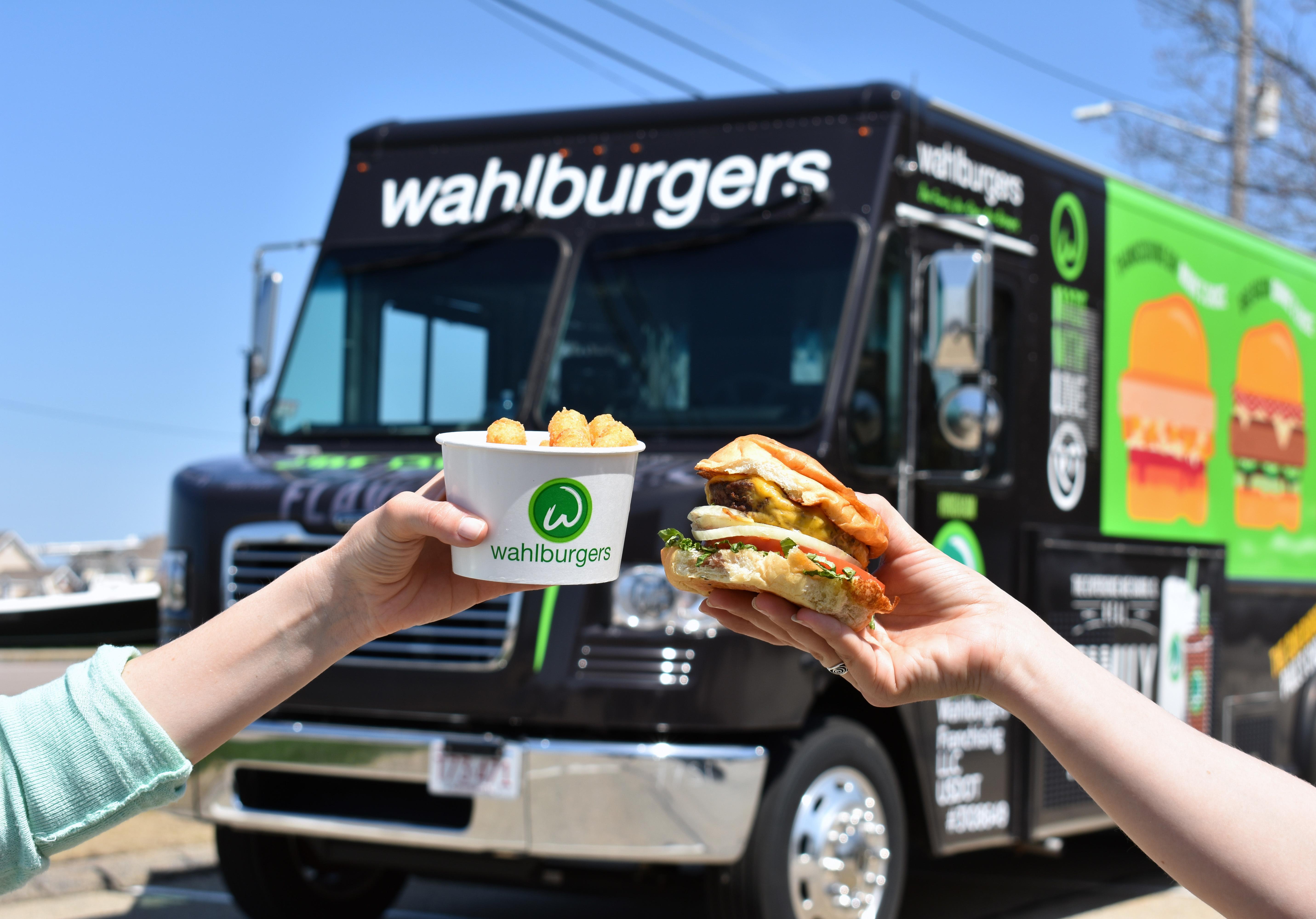 Wahlburgers Burger Tots  Truck 2