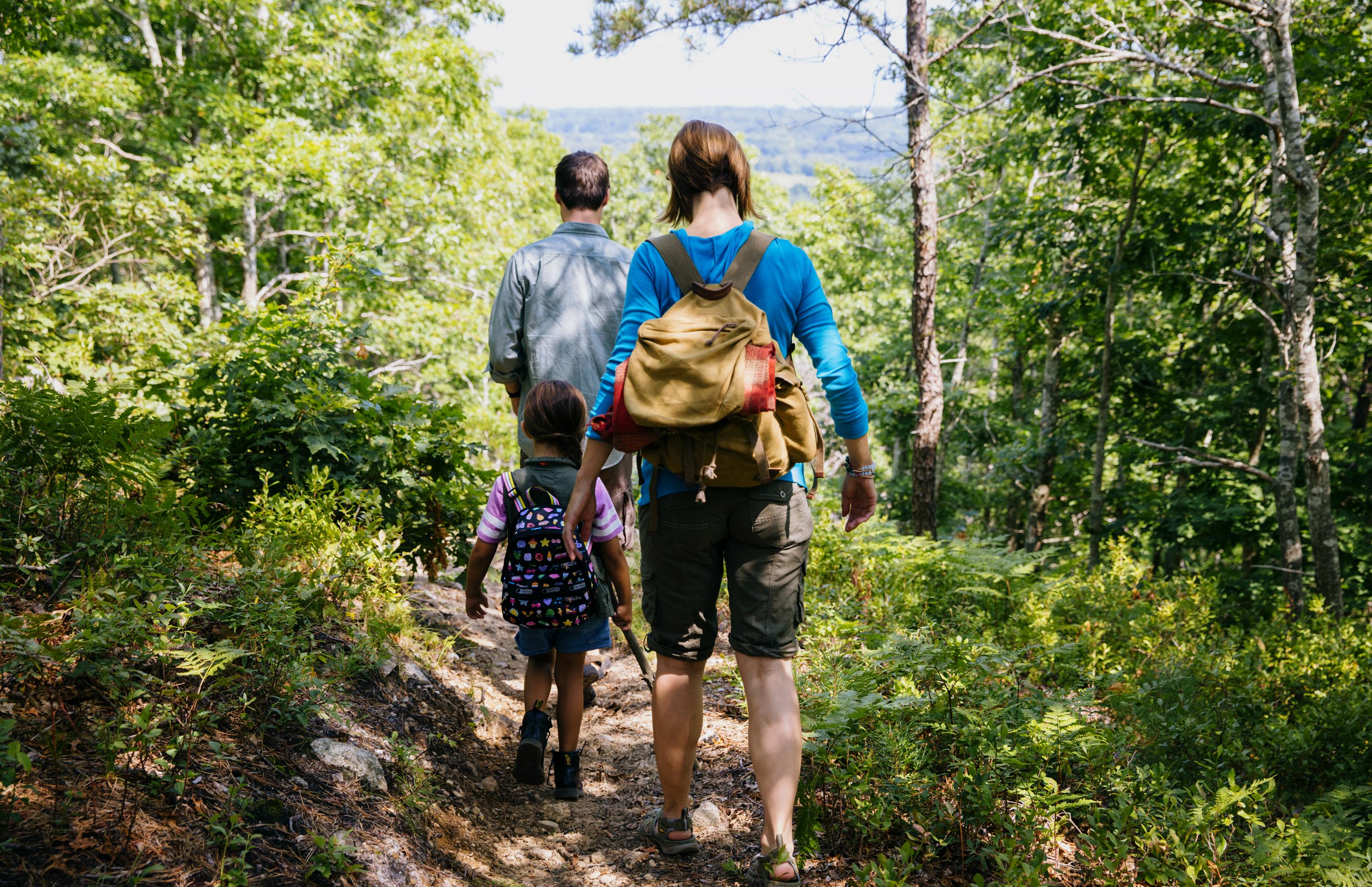 Hiking on The Ridge