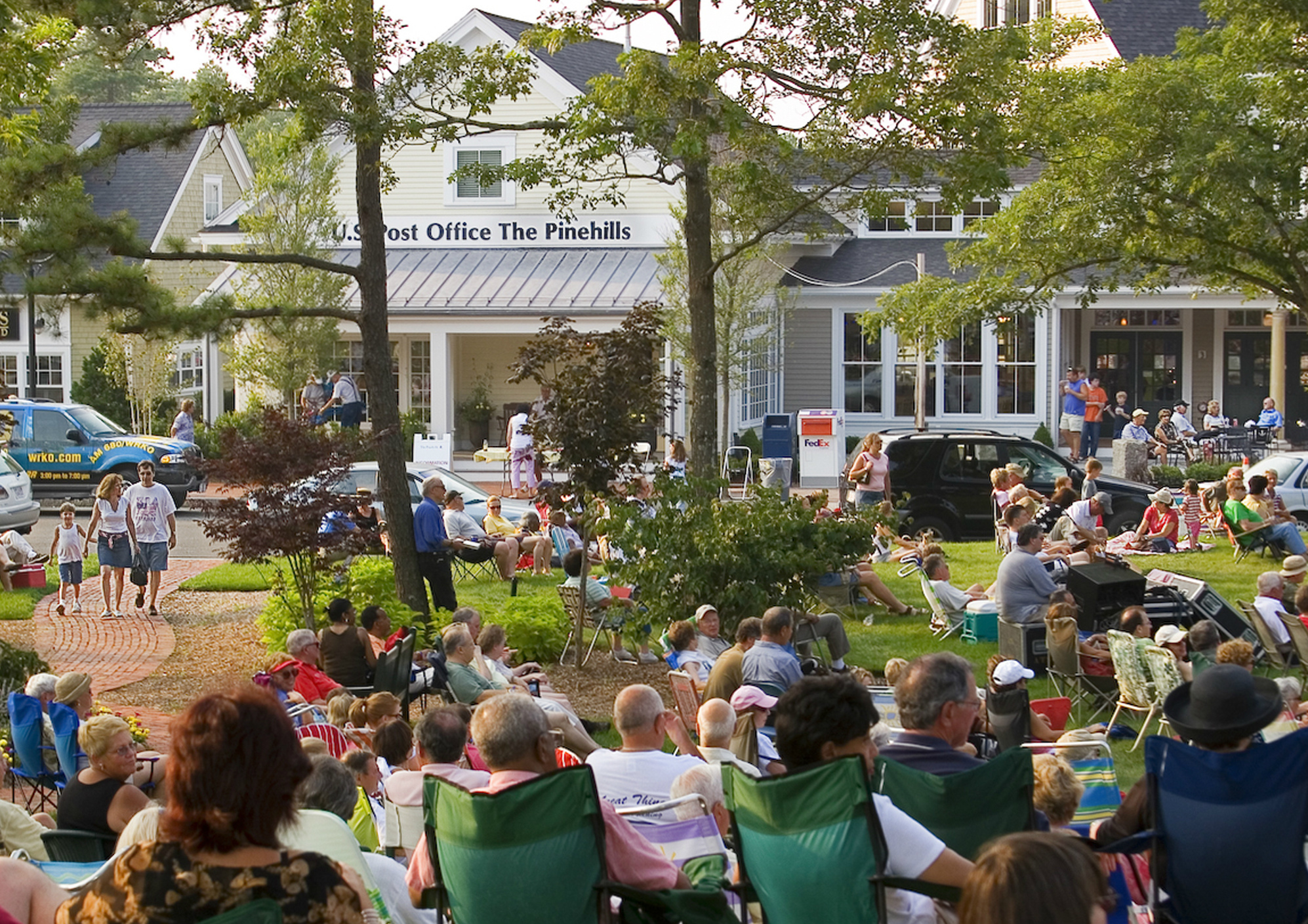 The Pinehills Village Green is the Location of Events all Year Round