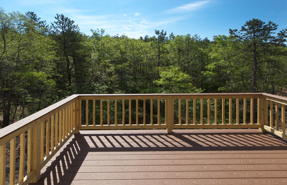 Kensington by Pulte Homes Deck View
