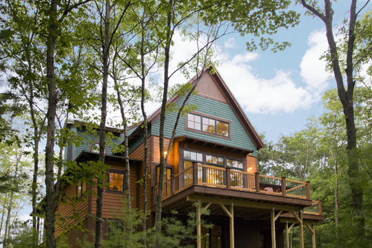 Barefoot Cottage Hickorywood Deck