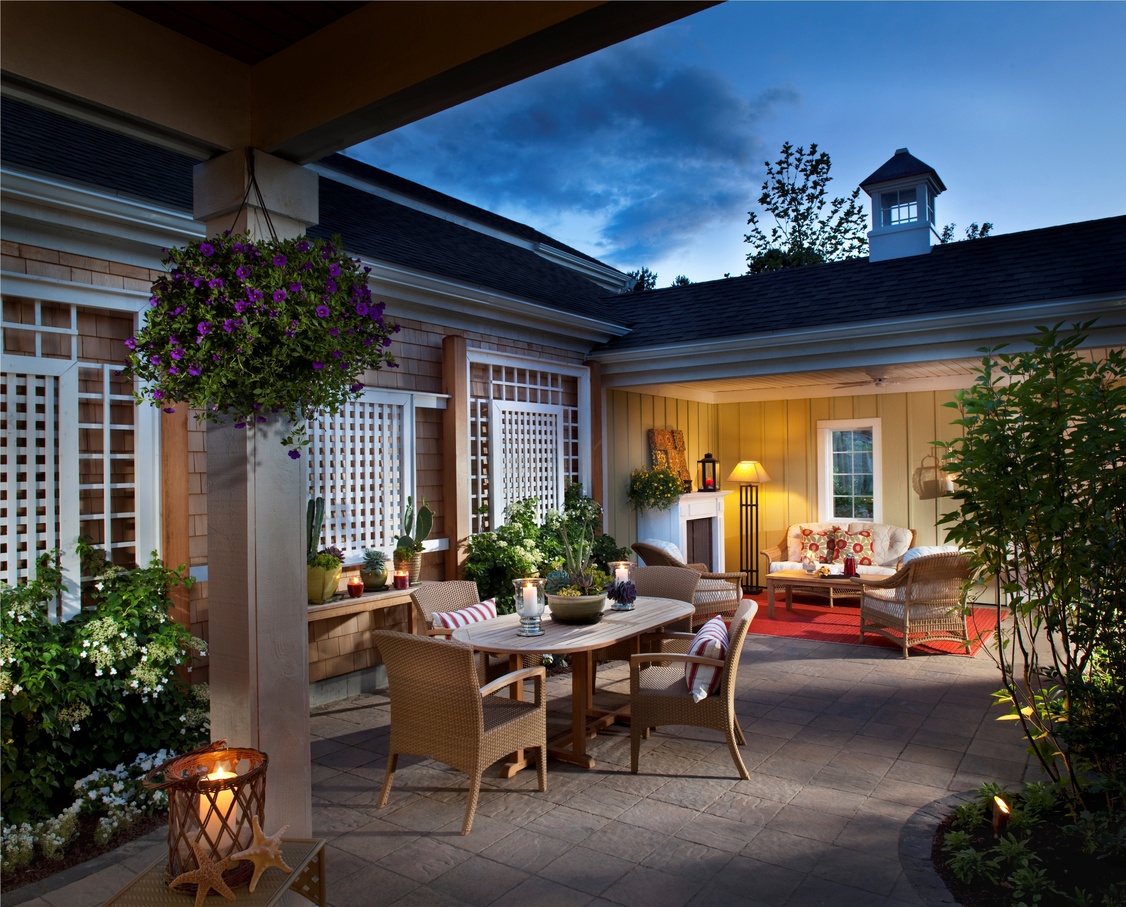 Green Company Fresco Townhome Outdoor Living