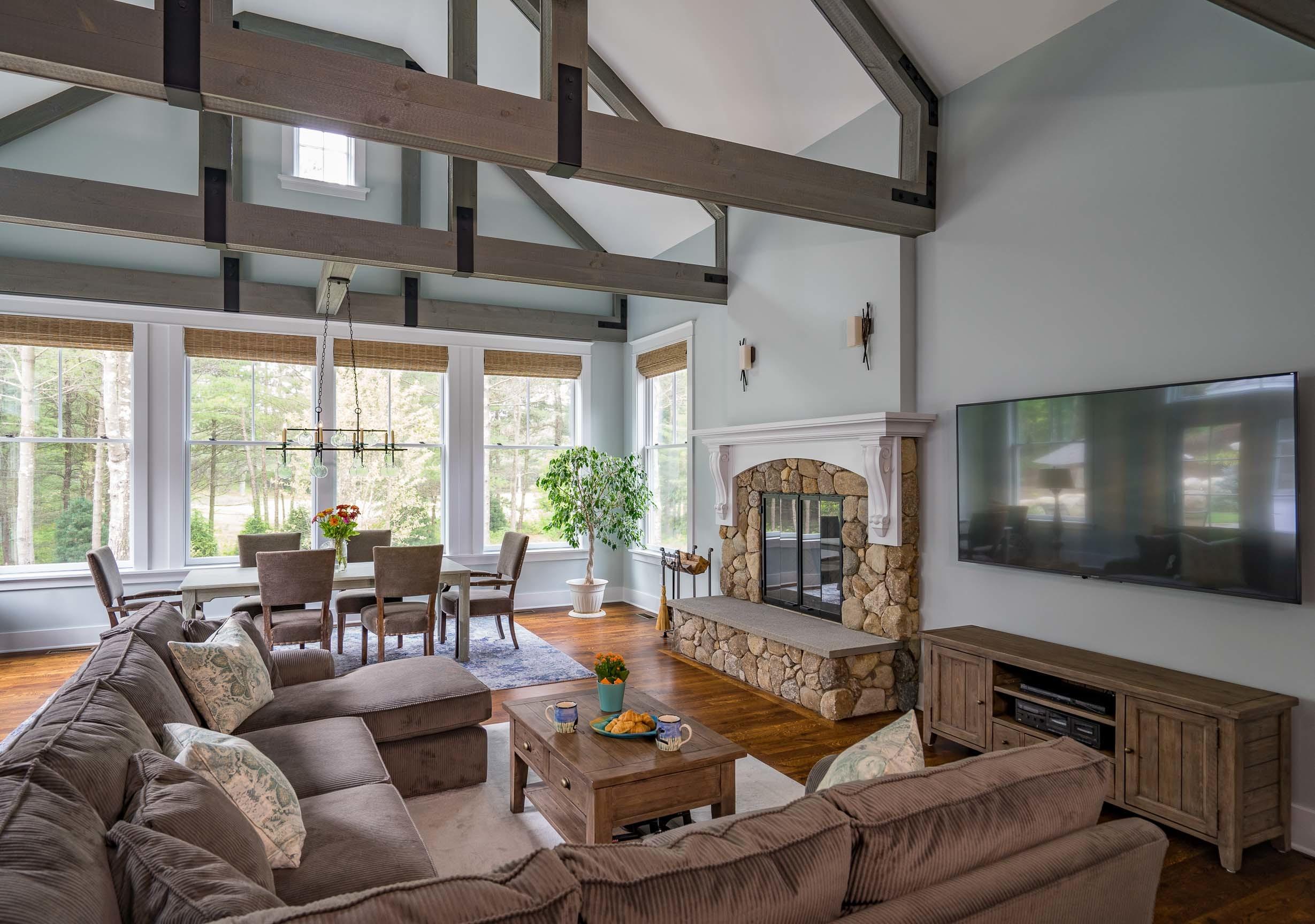 Kistler & Knapp Custom Home Ryecroft Great Room