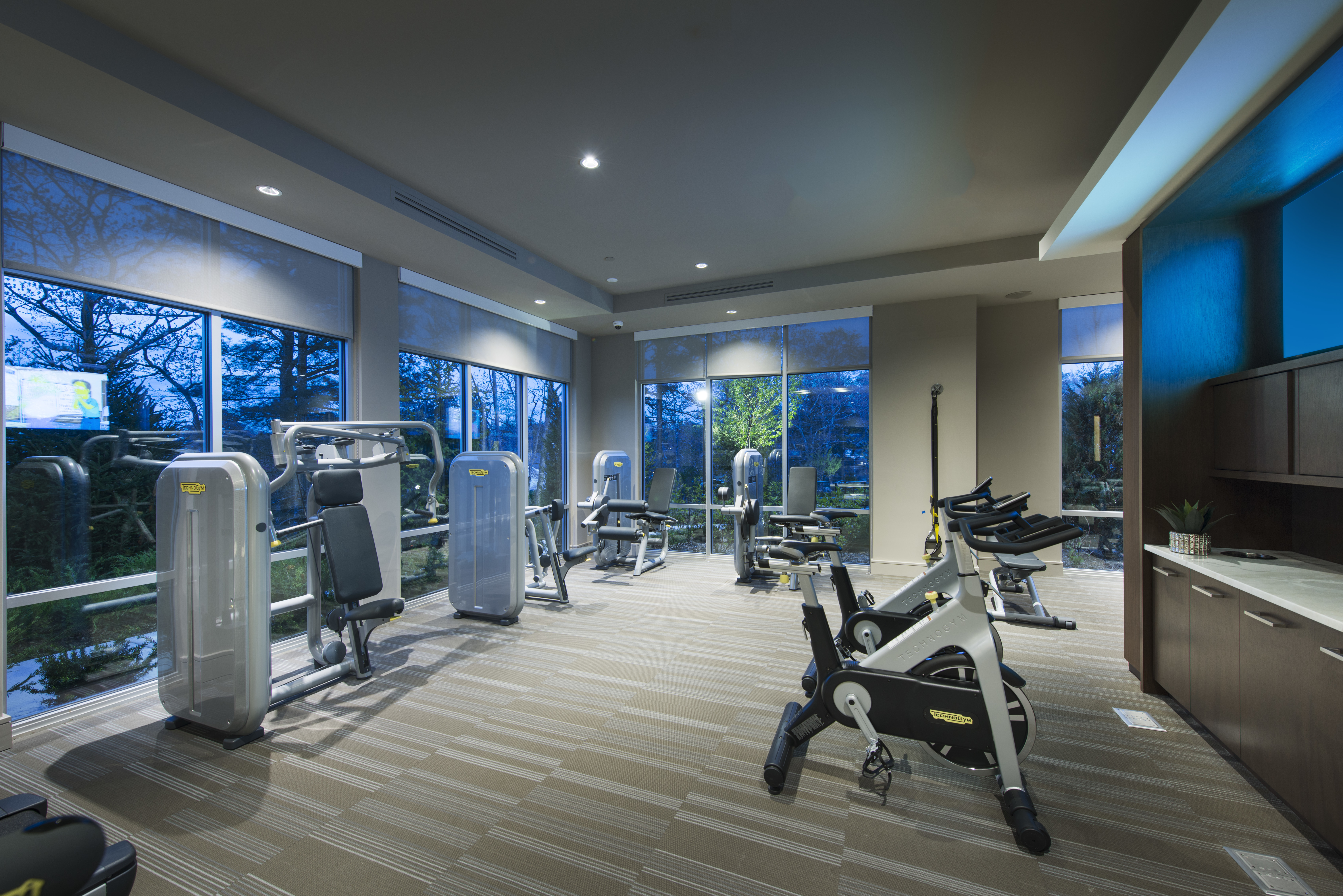 Fitness Room - Marq at The Pinehills Luxury Apartments