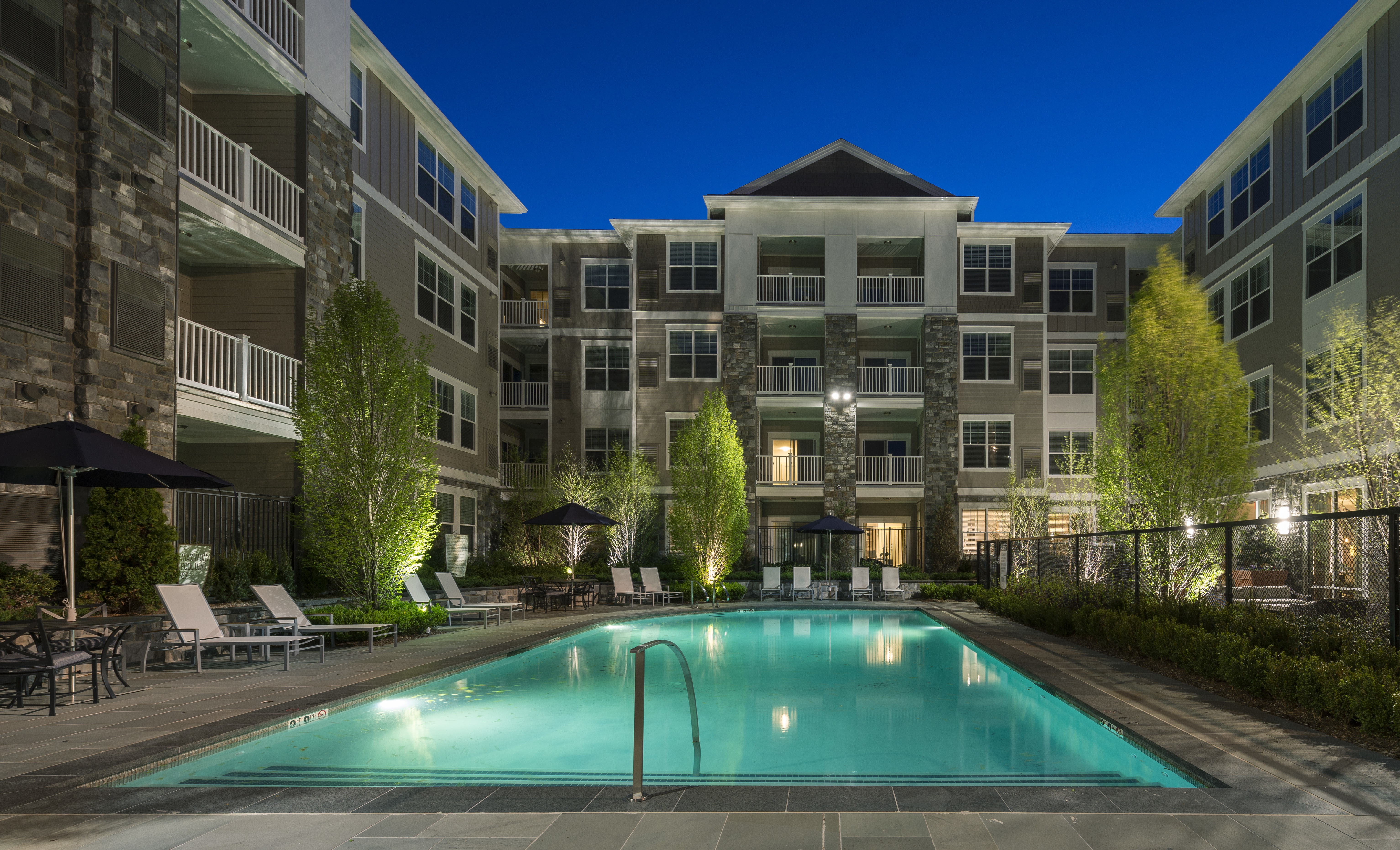Pool - Marq at The Pinehills Luxury Apartments