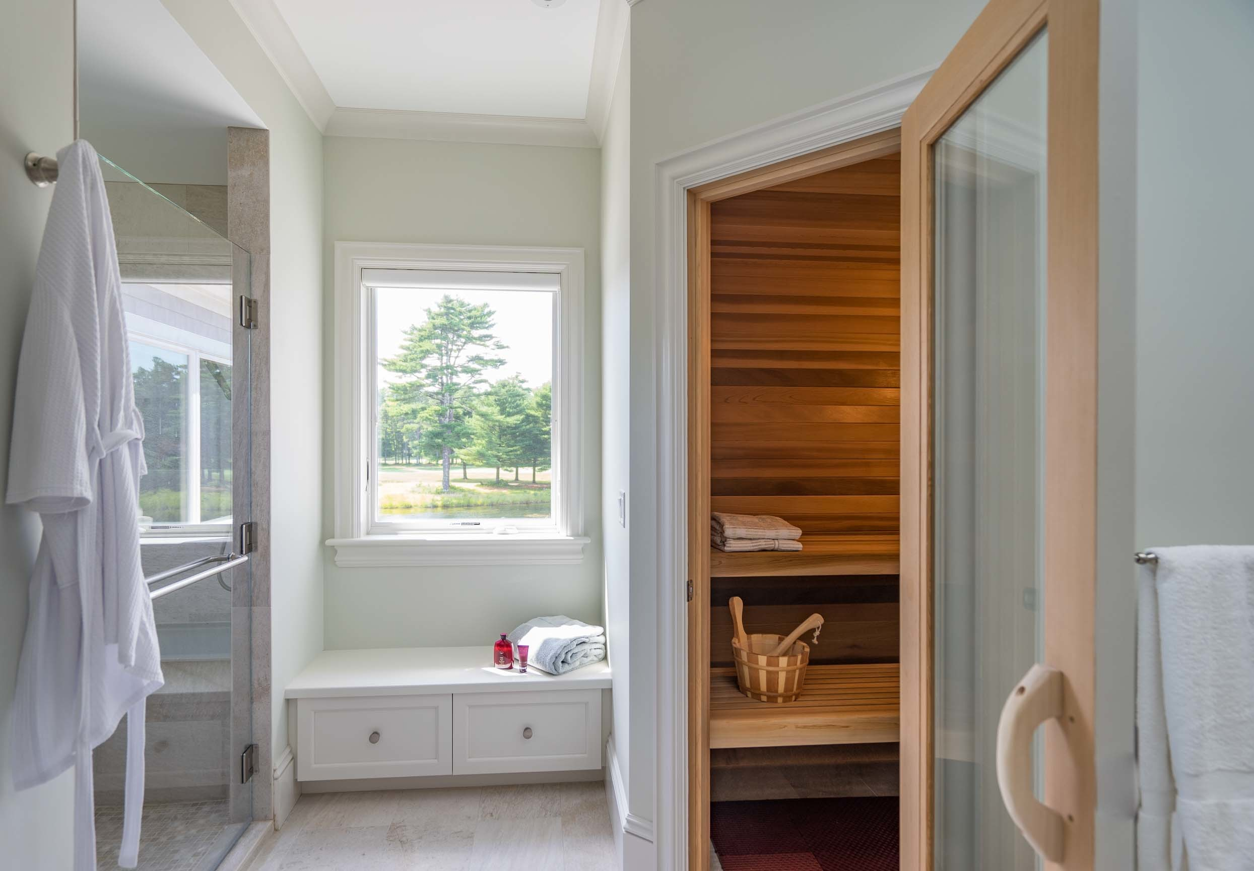 MacKenzie Brothers Ryecroft Custom Home Sauna