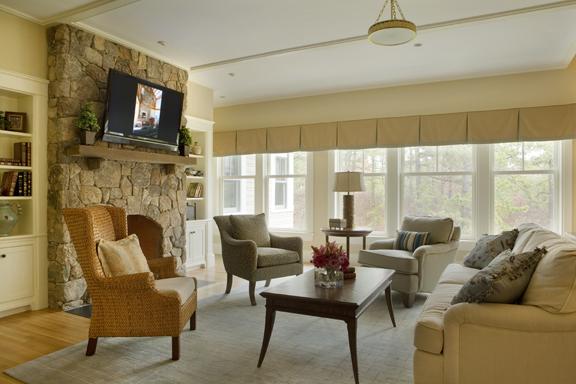 Kistler & Knapp Custom Home Livingroom