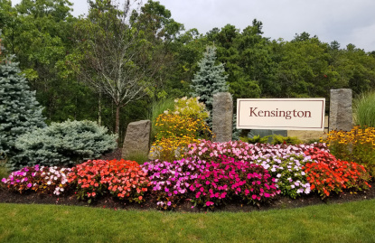 The Entrance to Kensington by Pulte Homes