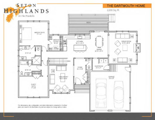 Floor Plan Seton Dartmouth FP print Page 2