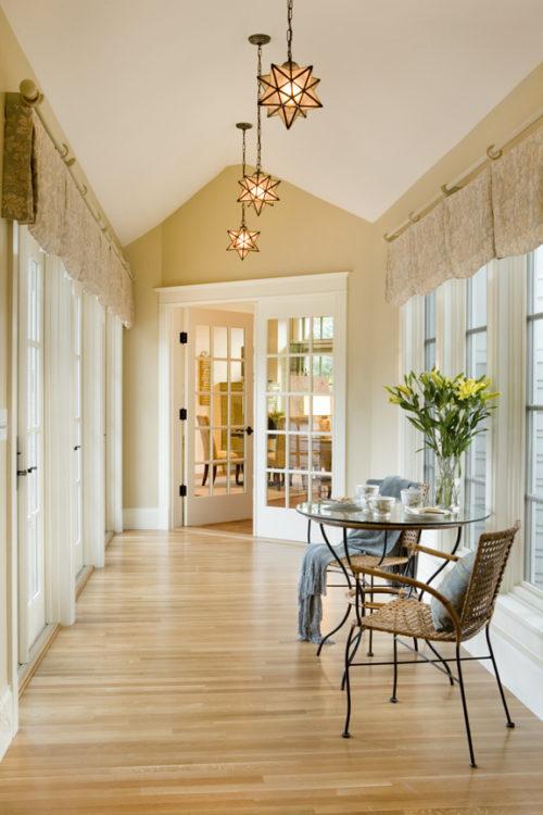 Kistler & Knapp Custom Home Breakfast Sitting Area