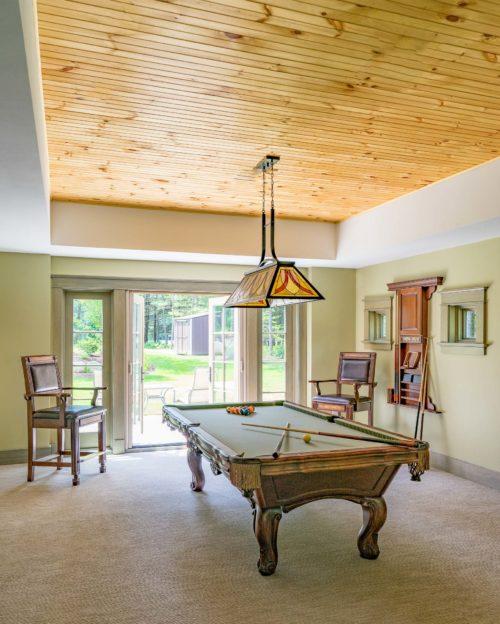 Kistler & Knapp Custom Home Ryecroft Finished Lower Level
