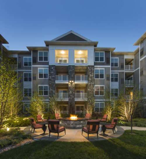 Firepit - Marq at The Pinehills Luxury Apartments