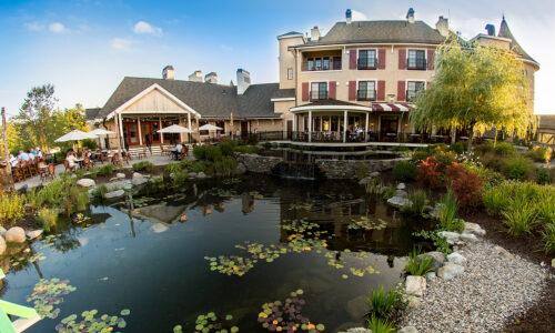 Mirbeau Monet Garden and Porch